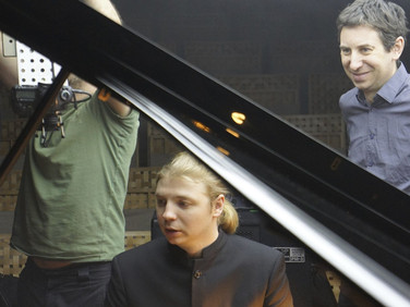 "Shooting of ""Precipitato"" with Denis Kozhukhin"