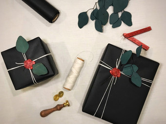 Wax Seal Gift Wrap