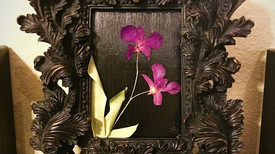 Pressed Orchid Keepsake