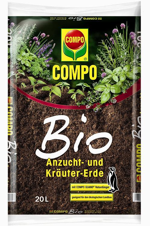 Φυτόχωμα Compo Sana Βιολογικό για σπορά και αρωματικά