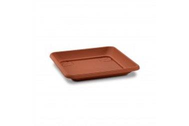 """Πιάτο Τετράγωνο""""Corfu"""" Πηλού 40x40x5 cm"""