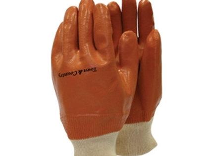 Γάντια αντρικά (Protection) Καλυμένα PVC και πλεκτή μανσέτα