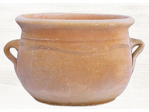 """Γλάστρα Crete """"Τσικάλι με δύο χέρια"""" 25x15 cm"""