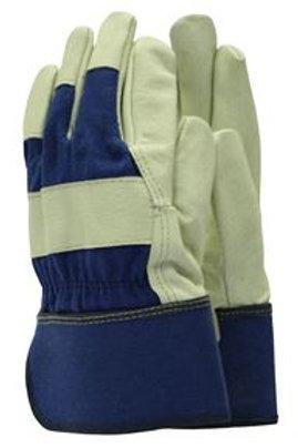 Γάντια Αντρικά (Heavy Duty) Με δερμάτινη παλάμη Deluxe πλενόμενα