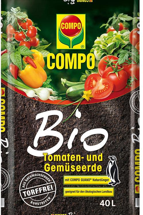 Φυτόχωμα Compo Sana Βιολογικό για ντομάτες και λαχανικά
