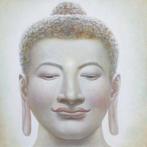 BUDDHA DES UNEINGESCHRÄNKTEN BEWUSSTSEINS auf Aludibond