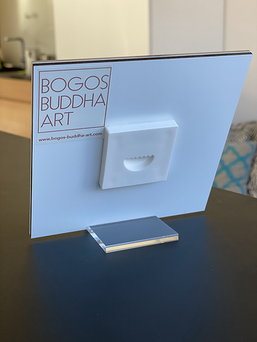 BUDDHA DES DIALOGS auf Acrylglas