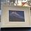 Thumbnail: BERGE bei Nacht auf Artpapier mit Rahmen