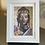 Thumbnail: GOLDENER BUDDHA auf Artpapier mit Rahmen