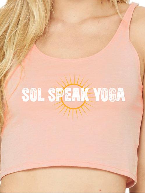 Sol Speak Yoga Crop Tank