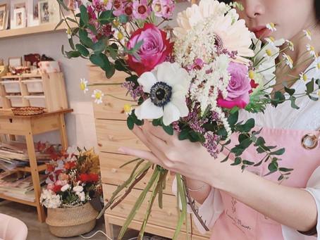 Hand Tied Flower Bouquet Hobby Class