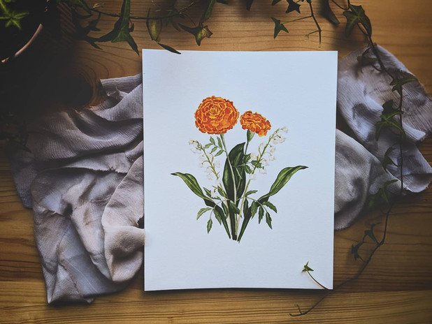 Floral Portrait 1