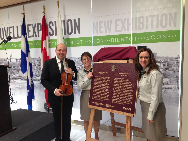 Inauguration Parc Canada