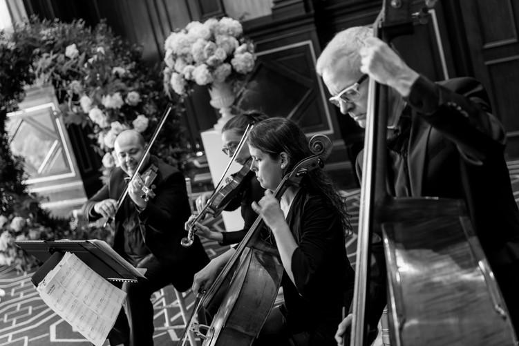 Mariage Fairmont Château Frontenac Quatuor à cordes