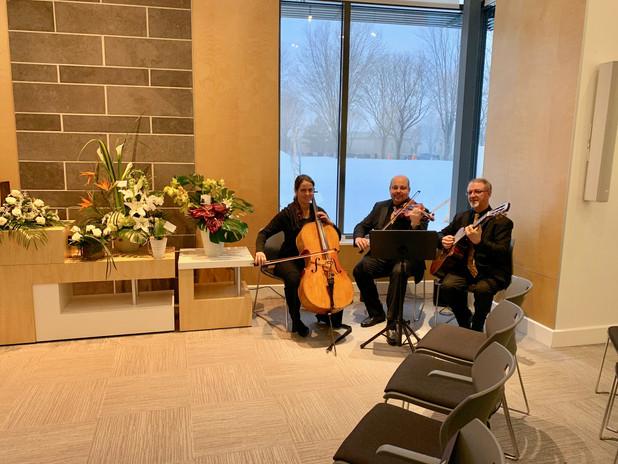 Coop des Deux Rives Complexe St-Charles Trio à cordes
