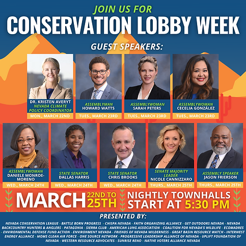 Conservation Lobby Week Townhall 3.22-25