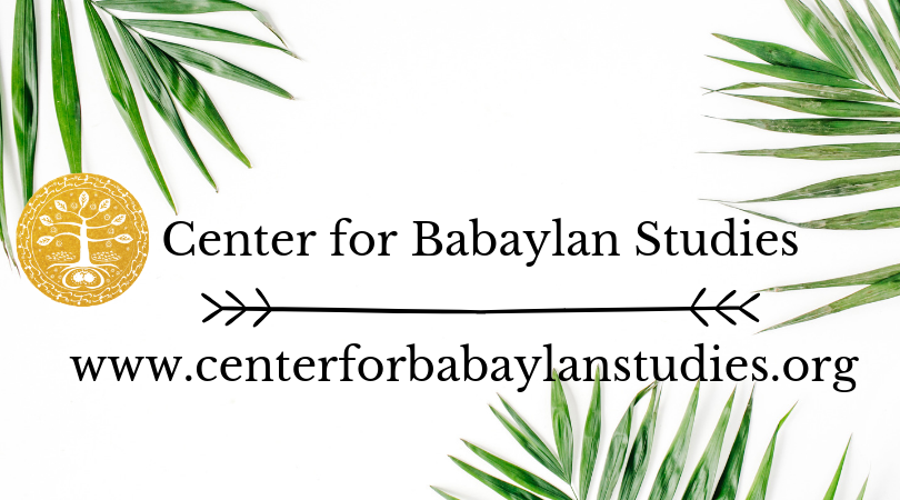 2019 Call for Proposals | Center for Babaylan Studies | What