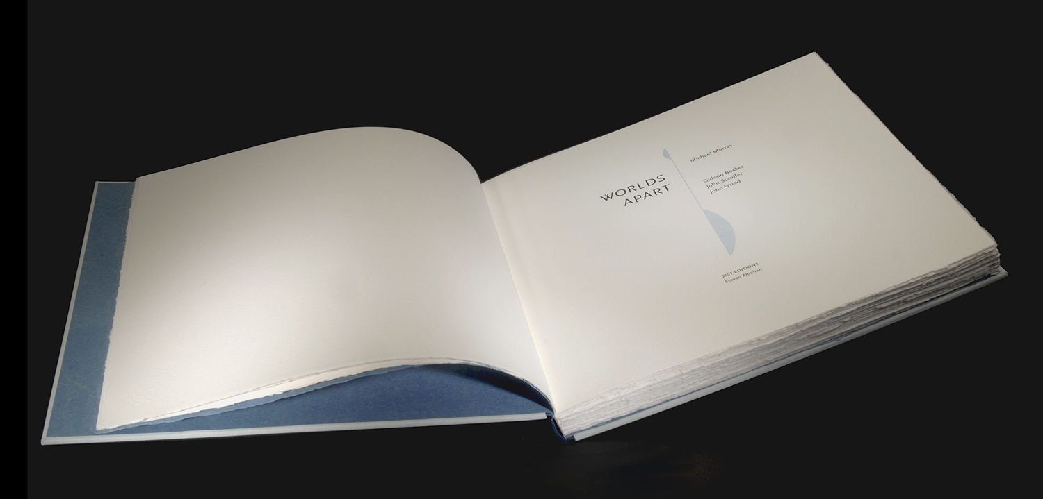 Worlds Apart Book Colophon