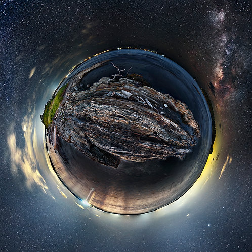 Potts Point and Milky Way