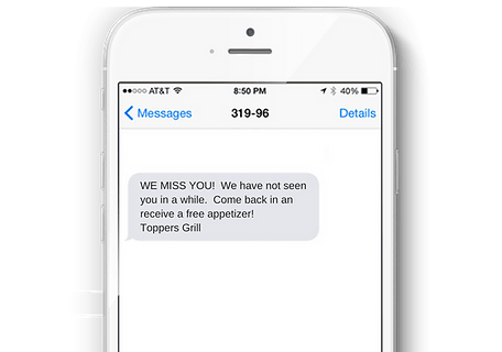 Schedule Text Offers - The Mandalay Group, Inc.