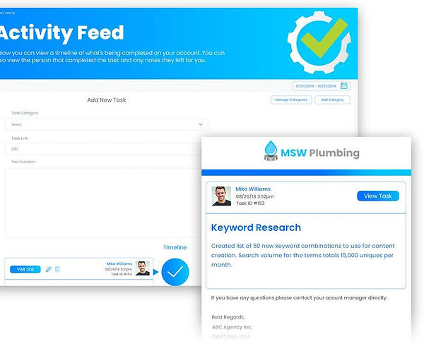 Activity Feed - All-In-One Marketing Solution - The Mandalay Group, Inc.