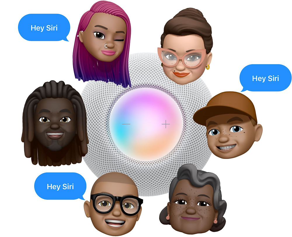 Apple HomePod mini enables up to six different user profiles to be connected
