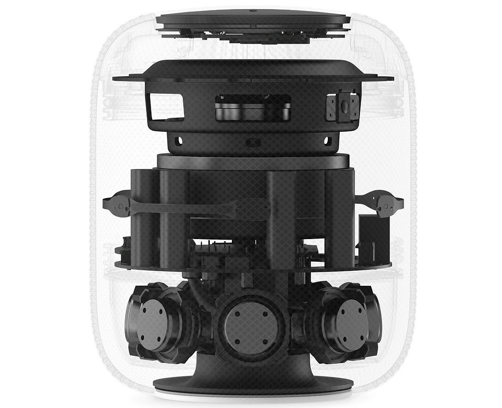 Apple's Original HomePod from 2018 - Internal View