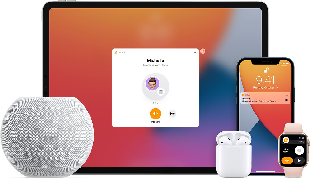 Apple HomePod mini allows Intercom features to be used with other Apple devices