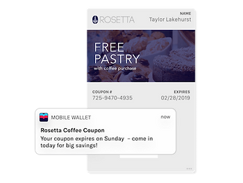 Update Mobile Wallet Passes Remotely - The Mandalay Group, Inc.
