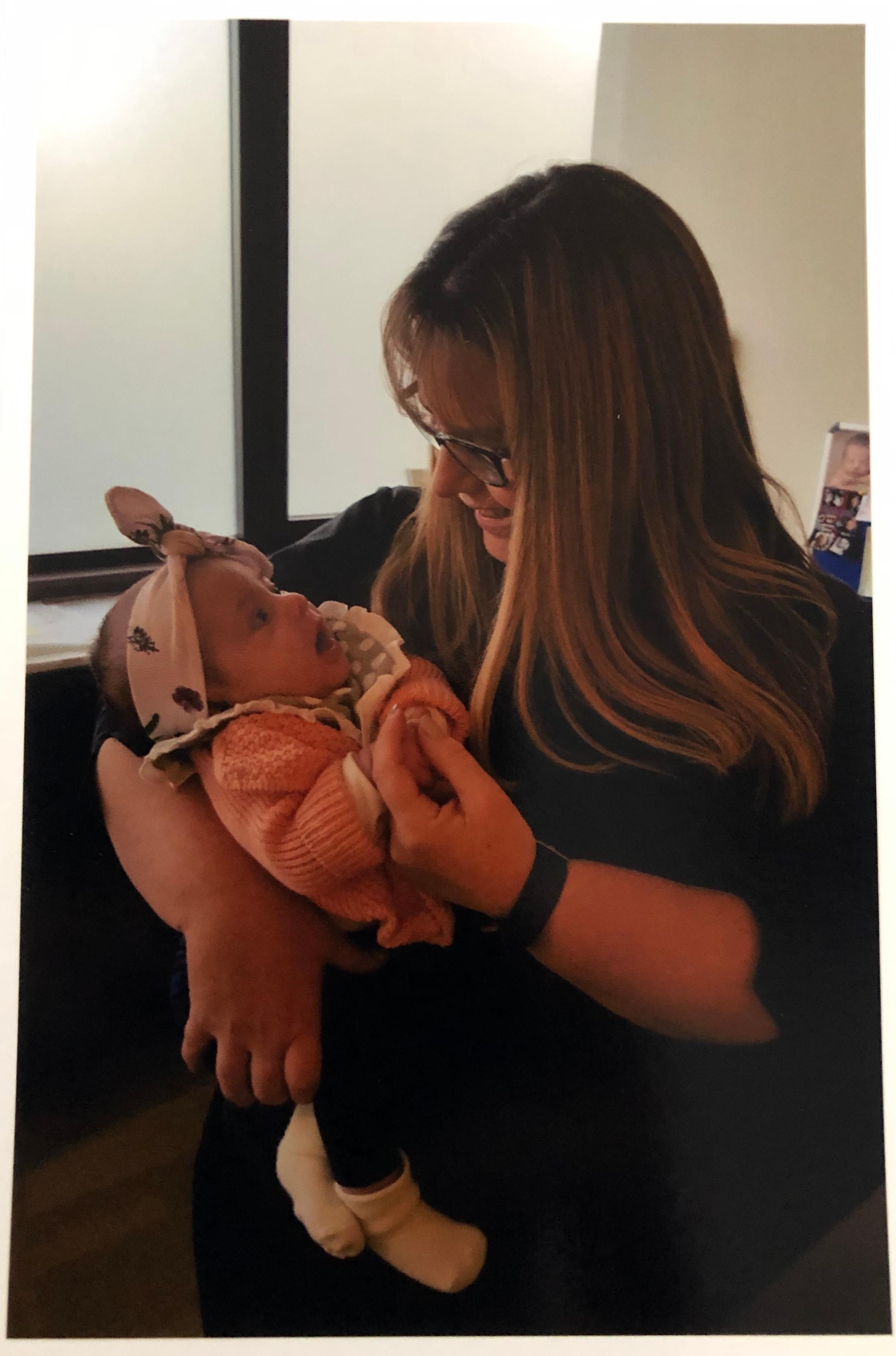Postnatal home visit