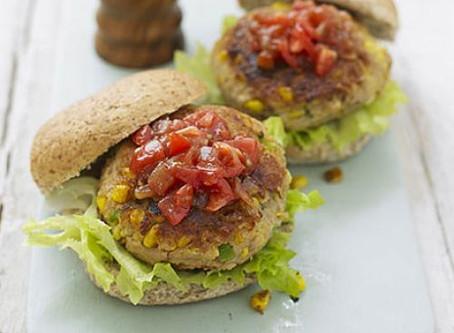 Tuna & Sweetcorn Burgers