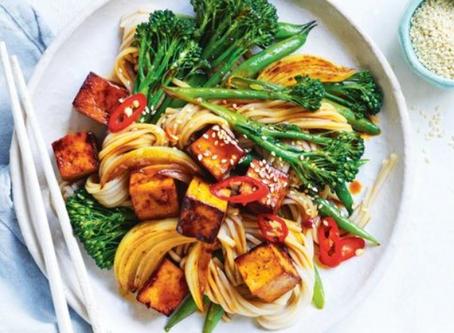 Tofu Stir Fry with Soba Noodles