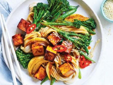 Tofu Stir Fry with Soba Noodles