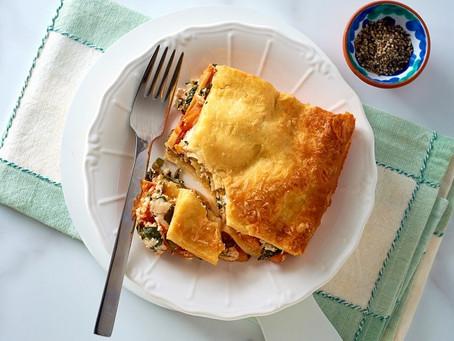 Skinny Veggie Lasagne (Serves 6)