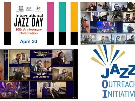 """JOI Jazz Orchestra Celebrates International Jazz Day with Video of Sammy Nestico's """"A Warm Breeze"""""""