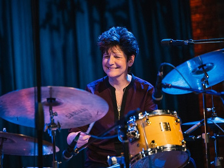 JOI's Gary Cordell Interviews virtuoso drummer, bandleader, composer, and educator - Sherri Maricle
