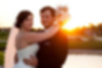 wedding photo sunset bride groom florida lake ashton