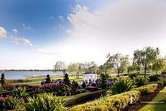 florida garden weddings lake ashton outdoor ceremony