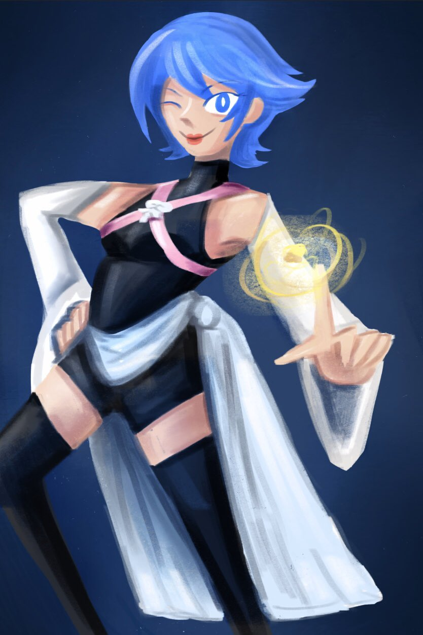 [Fanart] Aqua from Kingdom Hearts