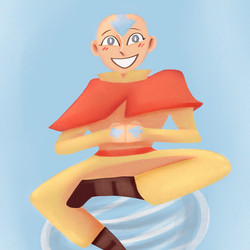 [Fanart] Aang from Avatar: The Last Airbender