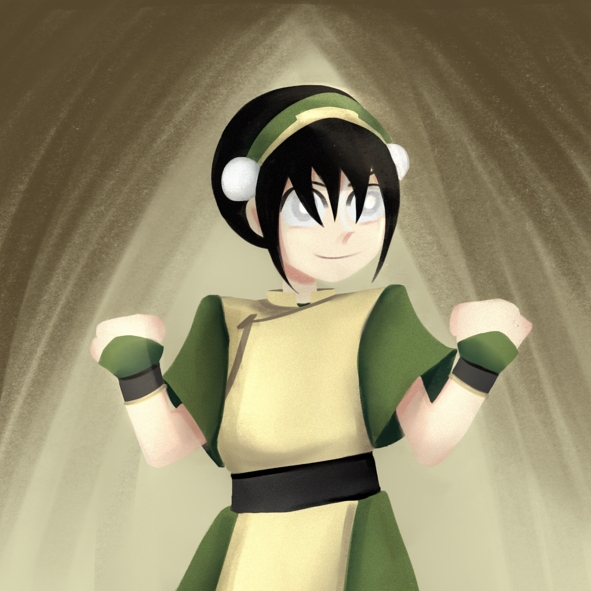 [Fanart] Toph from Avatar: The Last Airbender