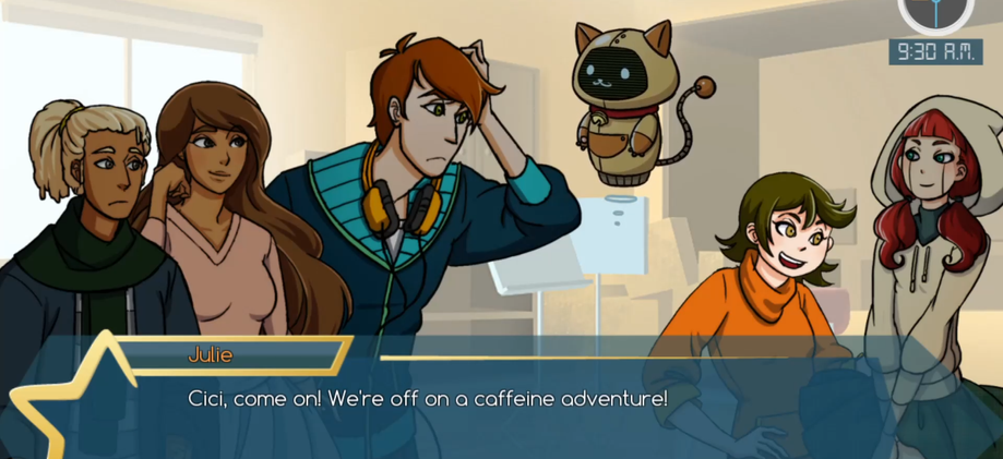 Star Crossing - Cutscenes and Conversations