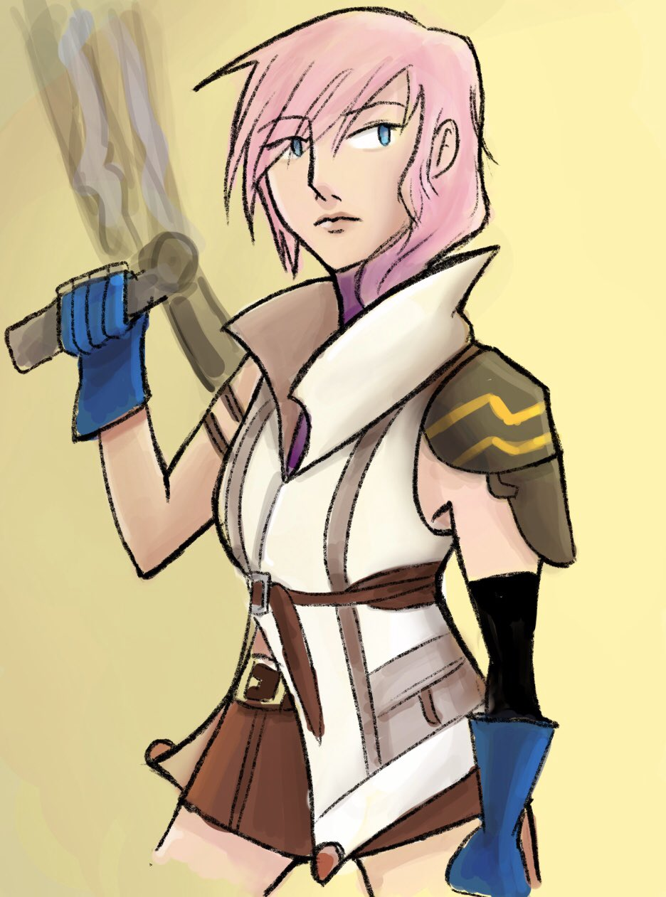 [Fanart] Lightning from FFXIII