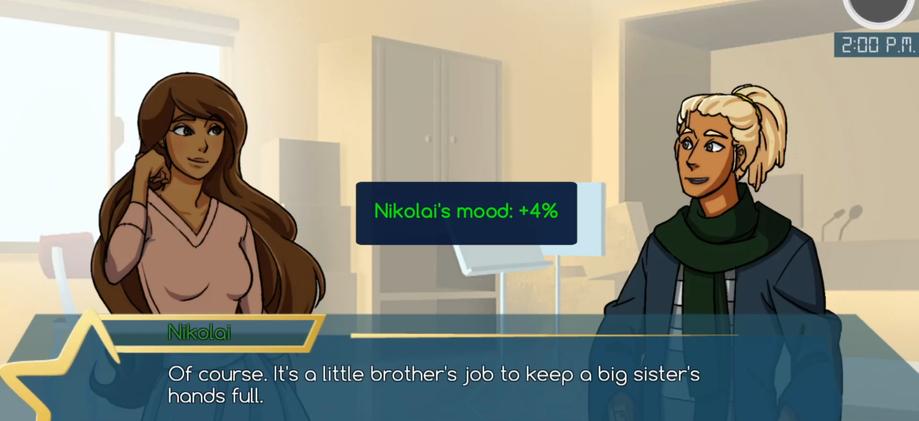 Star Crossing - Mood Boosting Conversations (Advanced)
