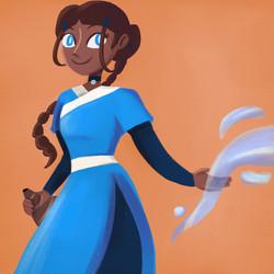 [Fanart] Katara from Avatar: The Last Airbender