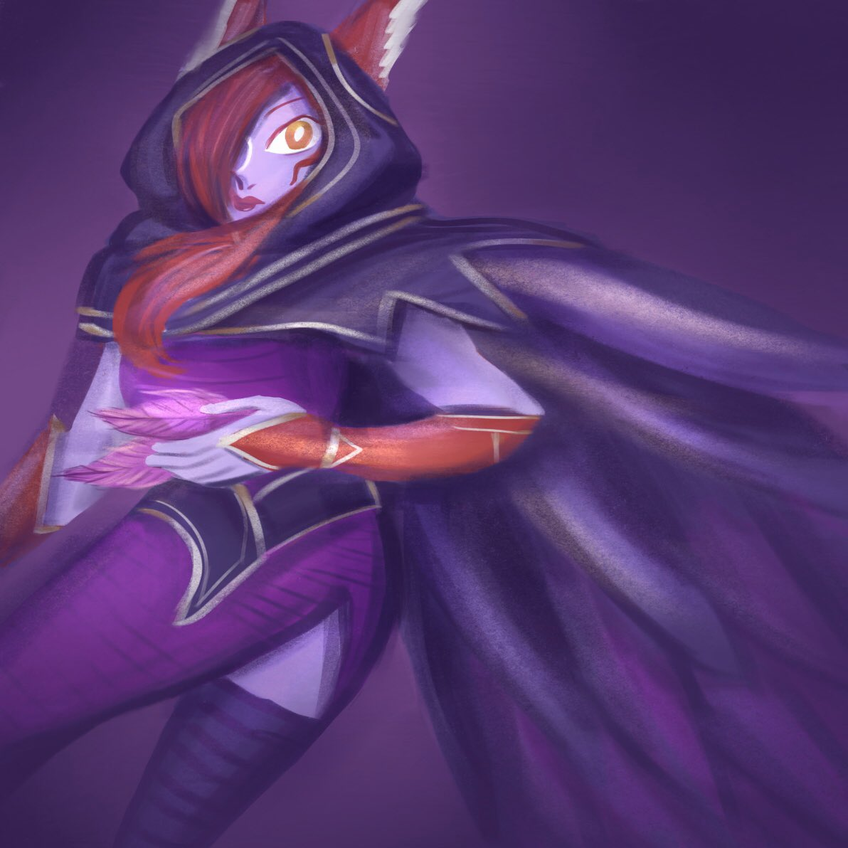 [Fanart] Xayah from League of Legends