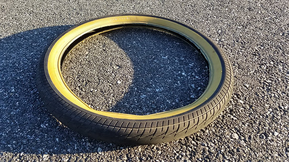 "Fit OEM Tire - 20x2.40"" Tan Wall"
