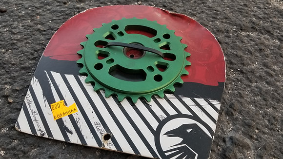 Shadow Crowgora Sprocket - Green 28T