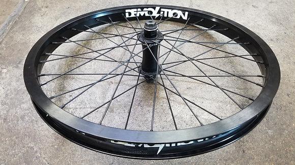 """Demolition Ghost V2 BMX Front Wheel - Black (20"""")"""