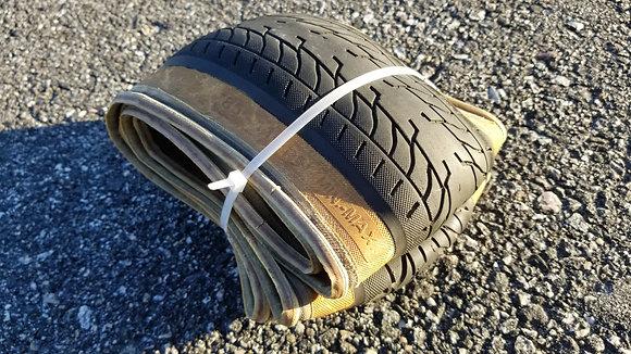 """Fit FAF-K Folding Tire - 20x2.40"""" Tan wall"""